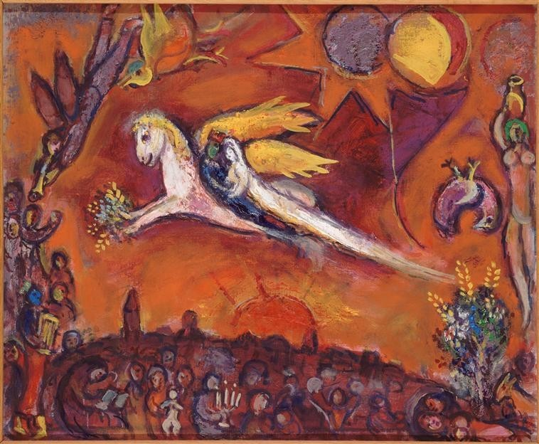 song of songs by chagall